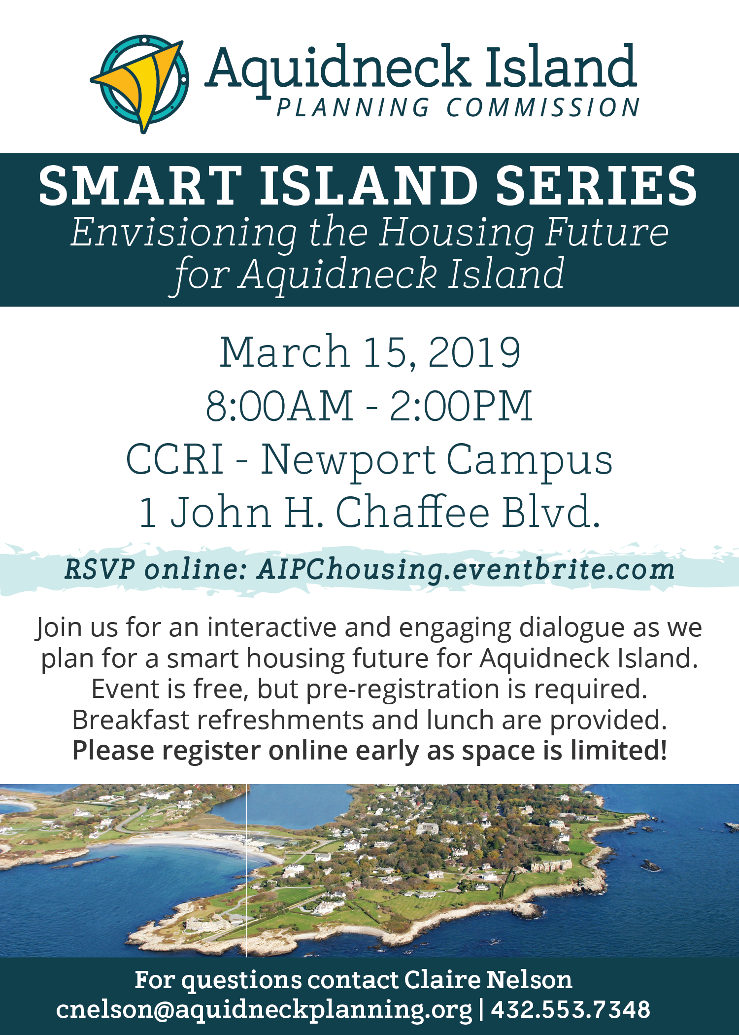 Aquidneck Island Smart Planning Series: Register Today